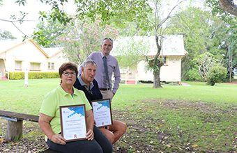 RECOGNITION FOR LOCAL CROWN RESERVE VOLUNTEERS