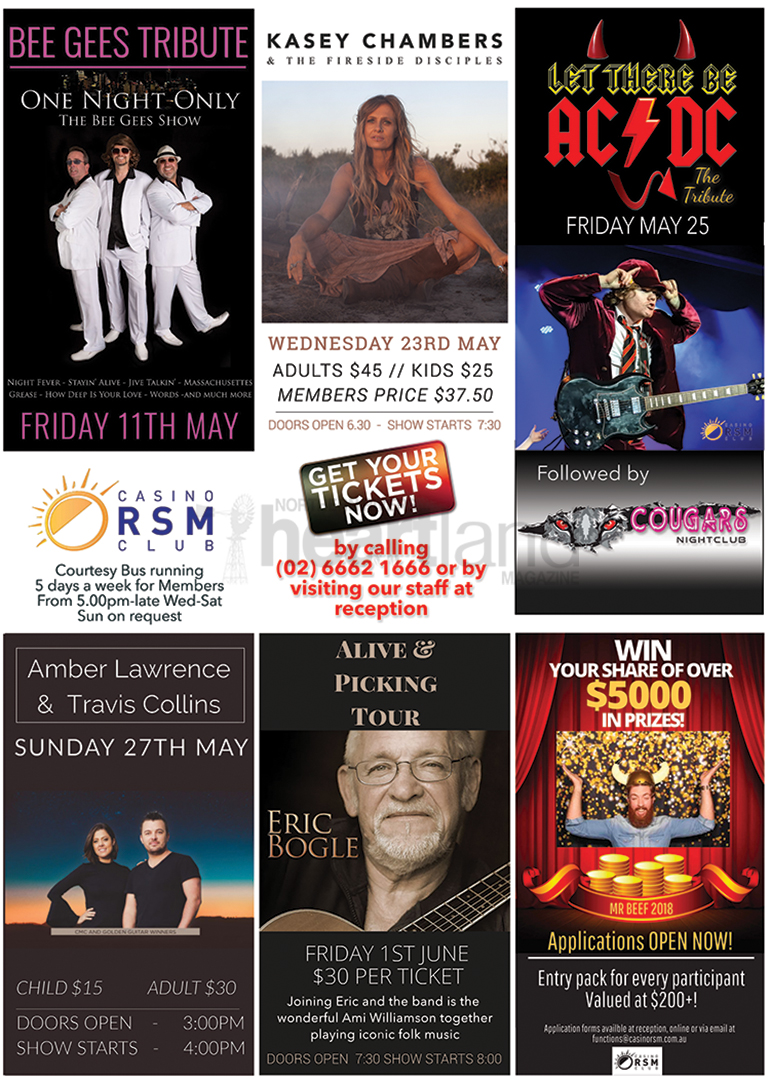 Casino RSM, Heartland Magazine Casino NSW News