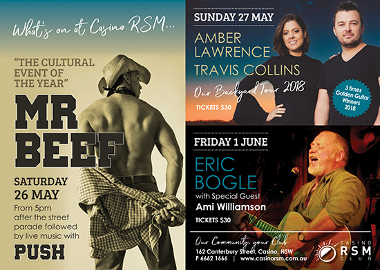 Casino RSM, Casino NSW News, Casino NSW Events, Casino Advertising, NSW News and Events, Heartland Magazine NSW