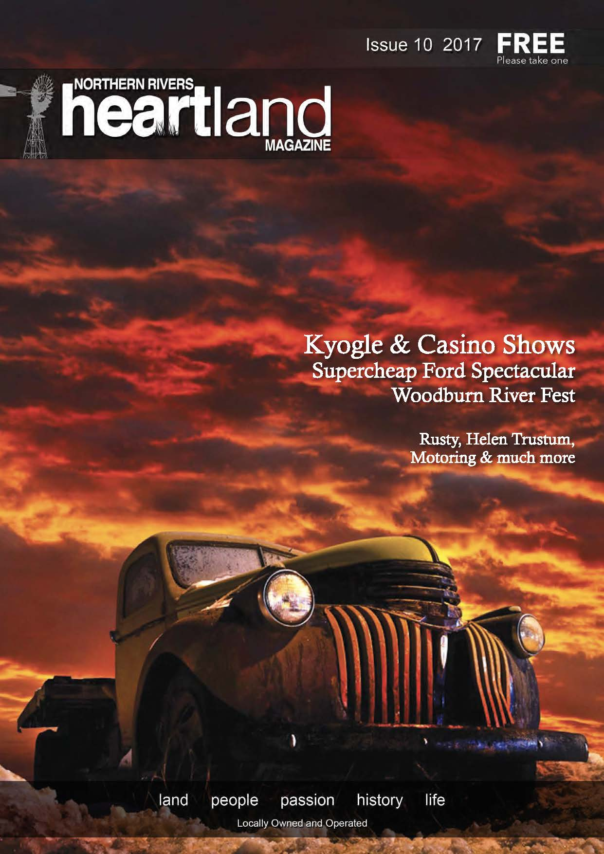 Issue 9 Heartland magazine, Kyogle Advertising and News, Casino NSW Advertising and News, Lismore Advertising and News, Grafton Advertising and News, Ballina Advertising and News