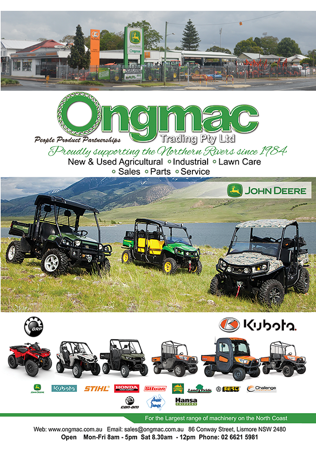 Issue 14 Ongmac, Lismore, Heartland Magazine NSW Northern Rivers