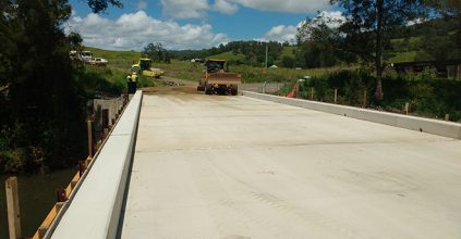 Kyogle Council has some great news for locals and travellers alike – Gradys Creek Road Re-Open