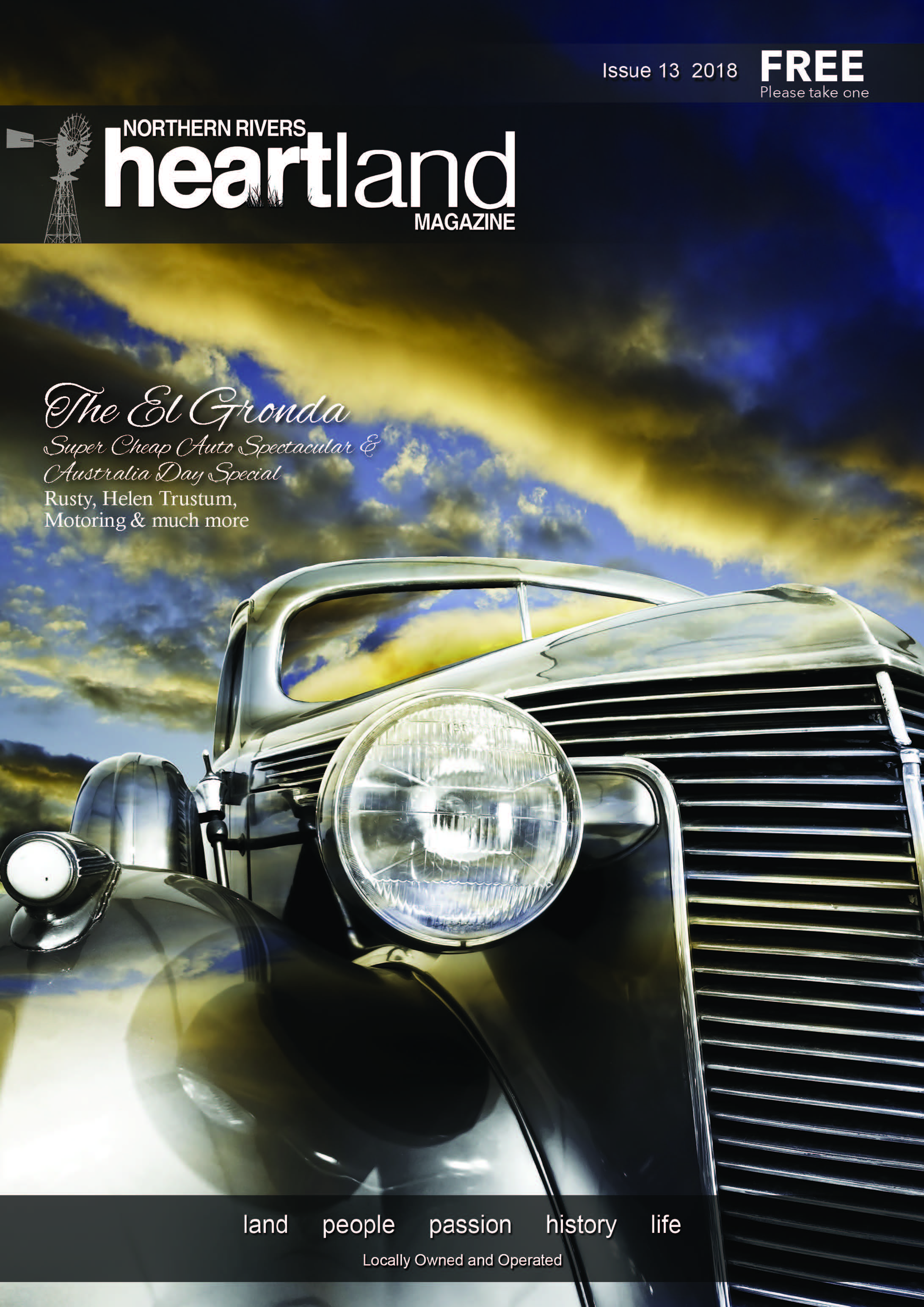 Heartland Magazine Issue 13, Casino NSW, Kyogle, Lismore, Grafton, Ballina, Yamba, Uki, Lennox Head, Advertising, news, events, magazine