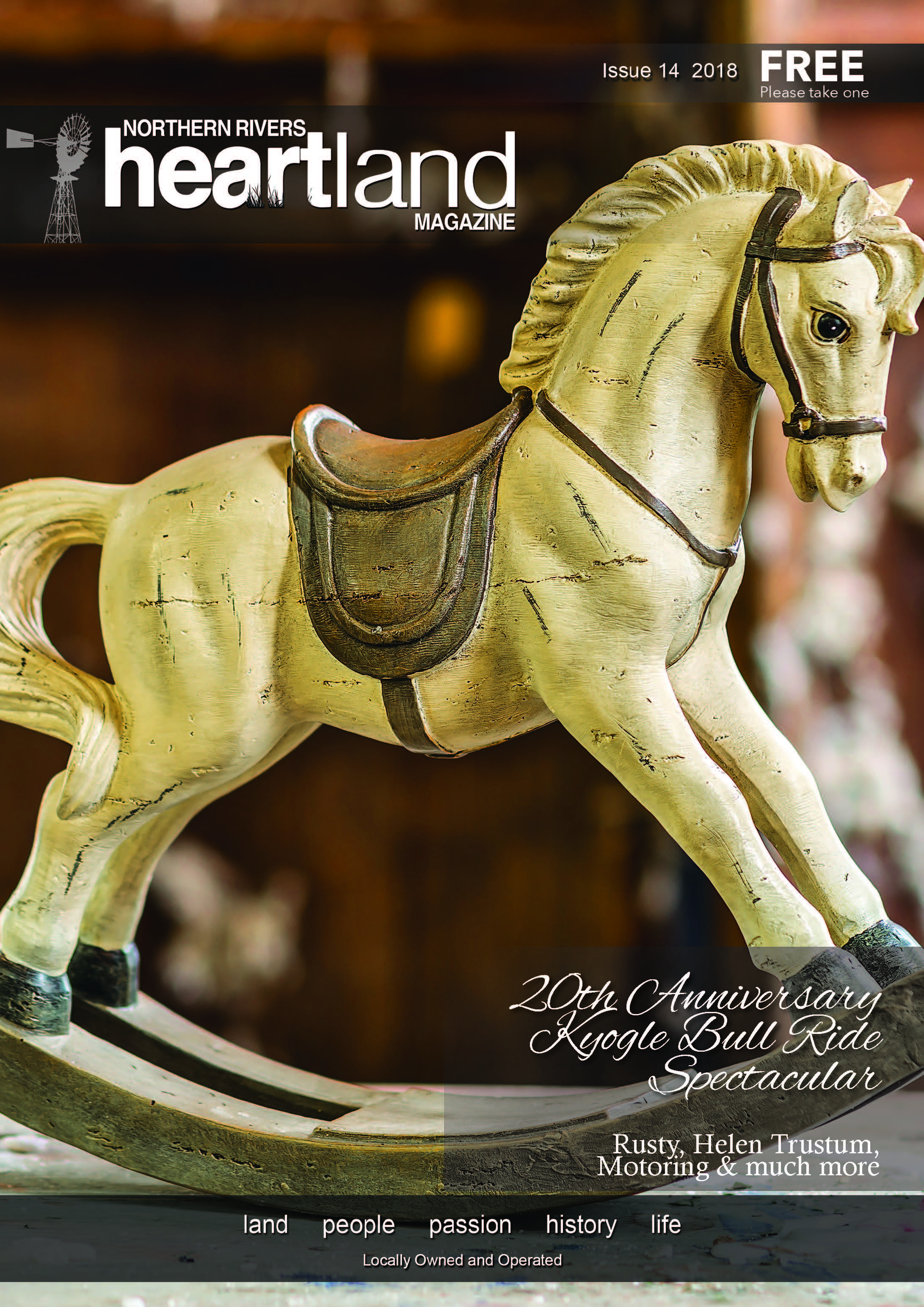 Heartland Magazine Issue 14, Casino NSW, Kyogle, Lismore, Grafton, Ballina, Yamba, Uki, Lennox Head, Advertising, news, events, magazine