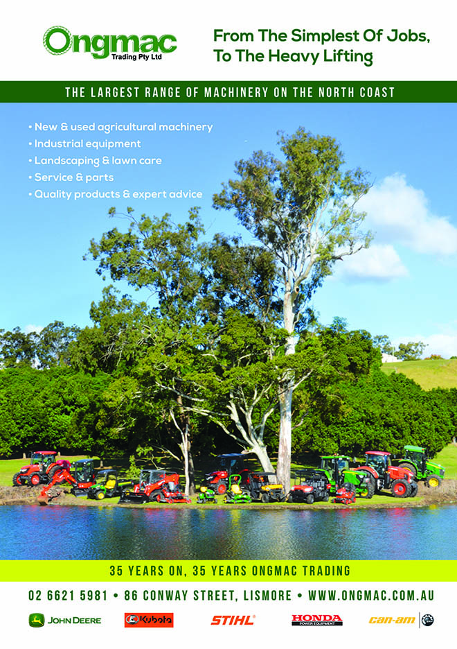 Ongmac Lismore, Casino NSW News, Heartland Magazine NSW Northern Rivers, Lismore News and Events