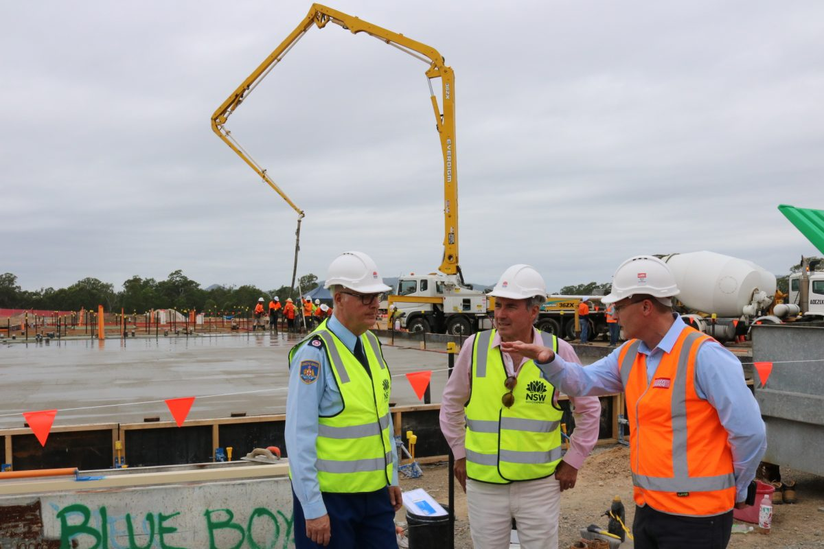 Clarence Correctional Centre, MAJOR CONSTRUCTION STARTS ON AUSTRALIA'S LARGEST PRISON, Heartland magazine News, Casino Advertising, Lismore Advertising