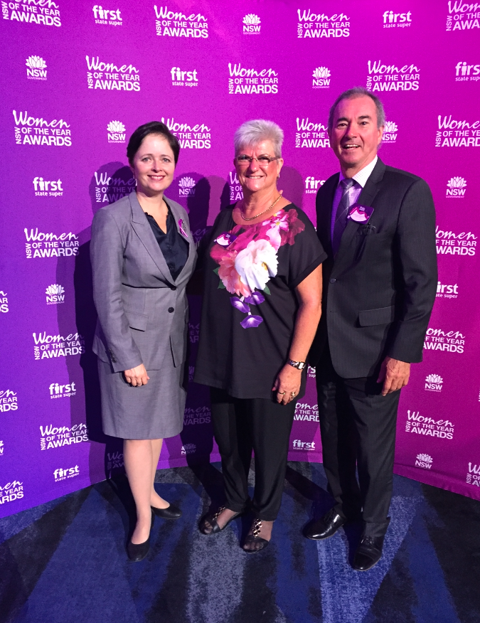 EVANS HEAD WOMAN OF THE YEAR FETED BY NSW PREMIER & MINISTER FOR WOMEN IN SYDNEY, NSW Northern Rivers News & Events