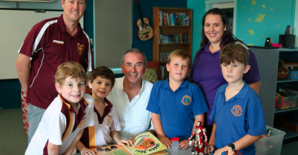 Heartland Magazine NSW Northern Rivers- BOOST FOR AFTER SCHOOL HOURS CARE AT ST JOSEPH'S PRIMARY SCHOOL MACLEAN