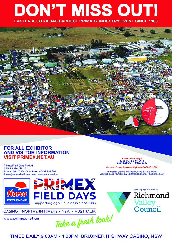 Primex Field Days, Primex News, Primex Casino NSW, Heartland Magazine, Casnino NSW News, Casino Advertising