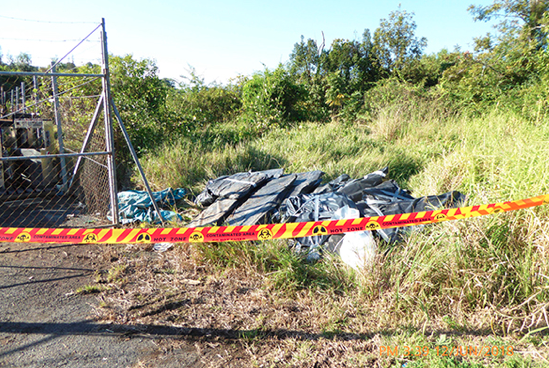 Lismore City Council is calling for help from the public with reporting illegal dumping of asbestos. In the last month