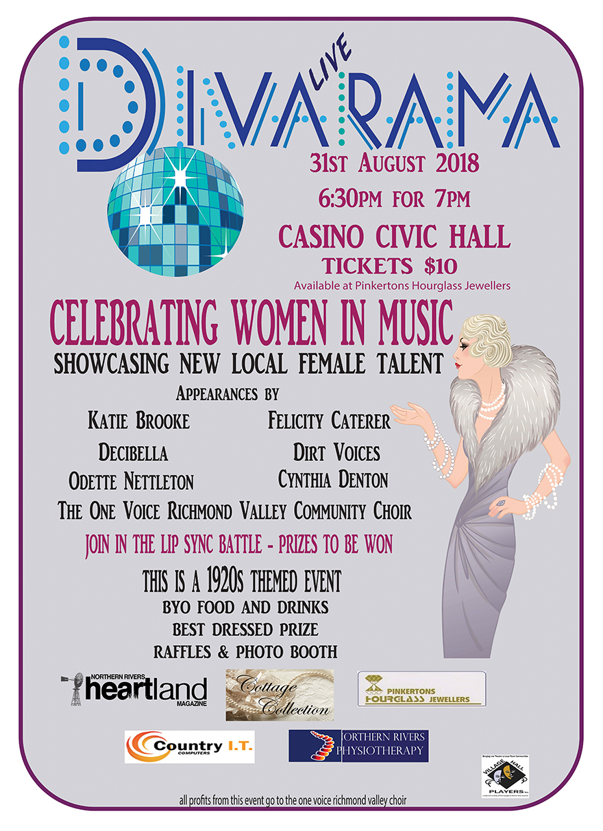 Divarama Casino NSW, Heartland Magazine Casino NSW, News and Events NSW Northern Rivers, Ballina News, Byron Bay News