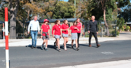 ILUKA SCHOOL KIDS NOW SAFER THANKS TO NEW PEDESTRIAN SAFETY WORKS