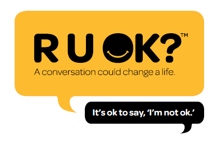 RUOK is a suicide prevention charity in Australia, reminding people that having meaningful conversations with mates and loved ones could save lives.