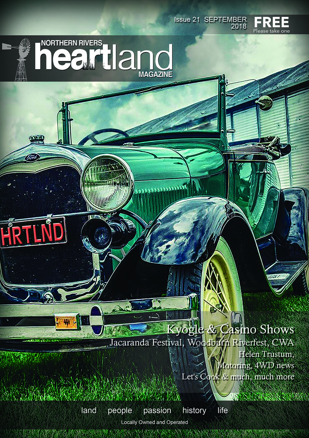 Heartland Magazine Issue 21, Casino NSW News and Events, Lismore News and Events, Kyogle News and Events, Ballina News and Events, Grafton News and Events