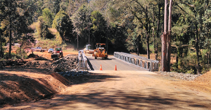 Kyogle Council opens two new bridges - slashes aging timber bridge inventory-Council, KYOGLE NEWS, HEARTLAND MAGAZINE NORTHERN RIVERS NEWS