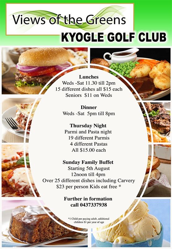 Kyogle Golf Club, Kyogle News, Heartland Magazine NSW Northern Rivers News
