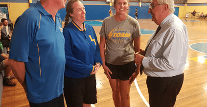 Thomas George MP - $254,000 FOR LISMORE BASKETBALL STADIUM, Lismore News, heartland magazine lismore