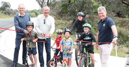 Richmond Valley News, NSW News and Events, Broadwater shared pathway open for business, Heartland magazine Richmond Valley NSW
