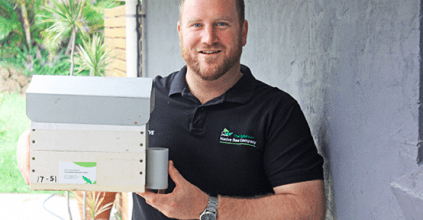 Image: Steve Maginnity from The Australian Native Bee Company, NSW News, Lismore City Council news, Heartland Magazine News and Events