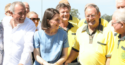 Maclean District Hospital, NEW HOSPITAL HELIPAD FOR NORTHERN NSW, Premier Gladys Berejiklian and Member for Clarence Chris Gulaptis, Heartland Magazine NSW Northern Rivers News and Events
