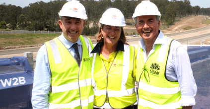 MEGA MILESTONE FOR WOOLGOOLGA TO BALLINA PACIFIC HIGHWAY UPGRADE, Heartland Magazine Pacific Highway News and Events
