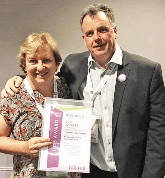 Lismore Library wins award for light-hearted efforts, Lismore City Council News heartland Magazine