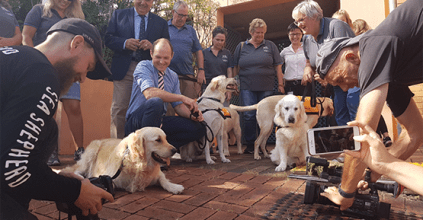 Lismore Austin Curtin, Member for Lismore Thomas George, Guide Dogs NSW/ACT, Canine Court Companion, Heartland Magazine News and Advertising New South Wales