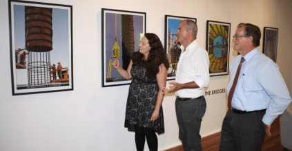 Grafton Regional Gallery's, Chris Gulaptis MP, Grafton News and Events Heartland magazine