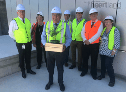 LISMORE HOSPITAL'S NORTH TOWER 'TOPS OUT', Lismore News and Events Heartland magazine