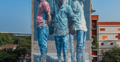 Fintan Magee to paint large-scale Quad mural this week, Lismore News and Events