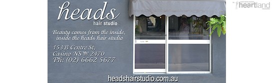 Heartland Magazine Issue 26 NSW Northern Rivers News, Events and History, Heads Beauty Salon Casino NSW