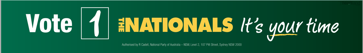 NSW National Party, The National Part, Coffs Harbour, Port Macquarie, Lismore, Ballina