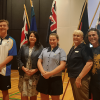 Students complete flag project for new Ballina Coast High School