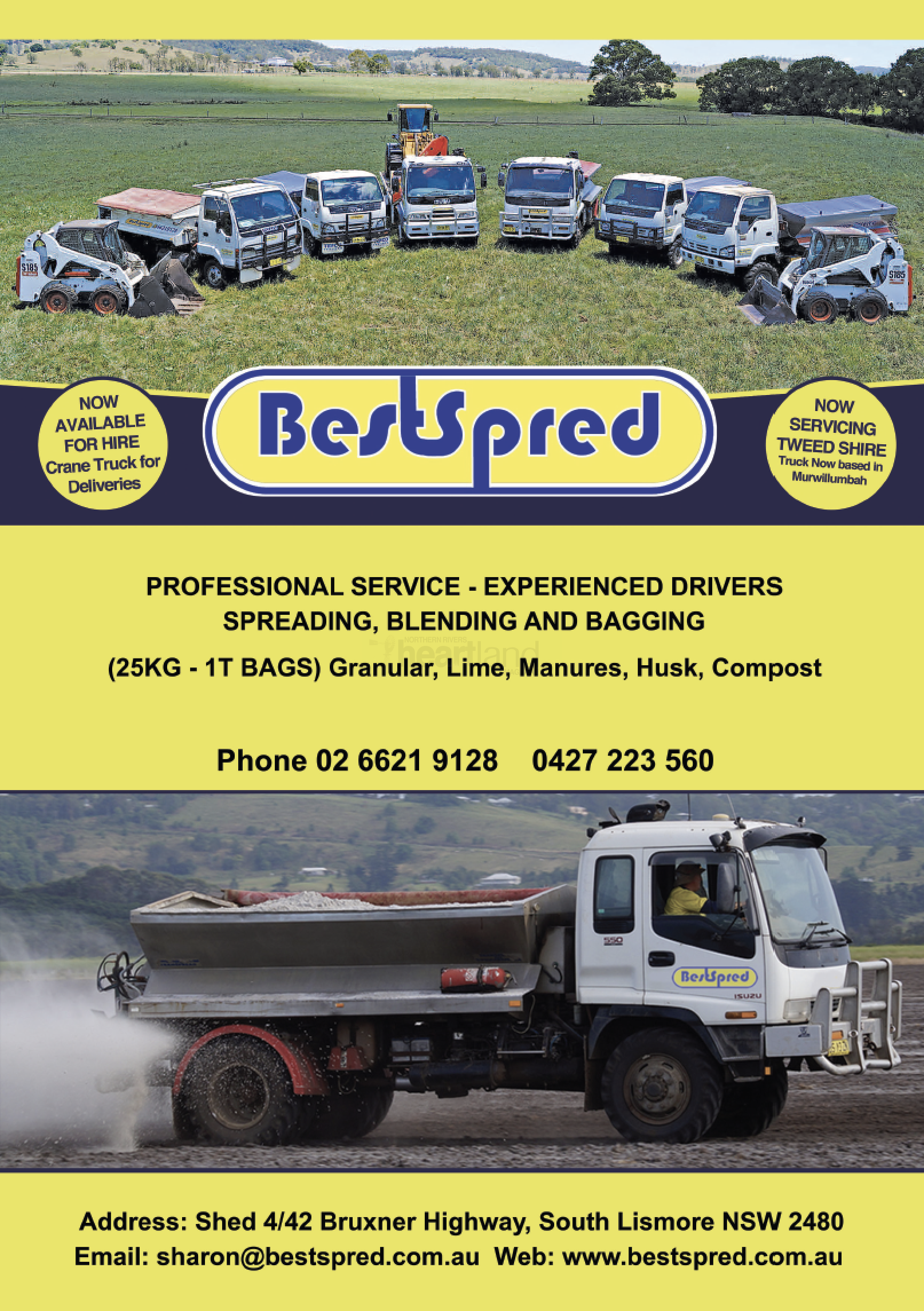 Bestspred, Heartland Magazine NSW