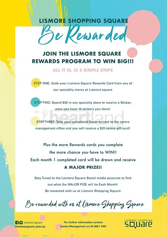 Lismore Square Rewards Program