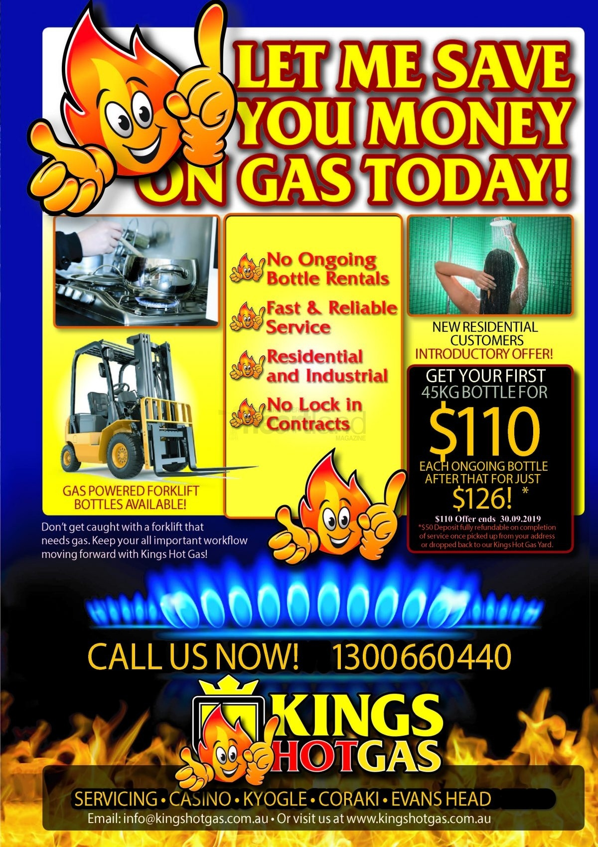 Kings HotGas Casino NSW, Heartland Magazine NSW Northern Rivers
