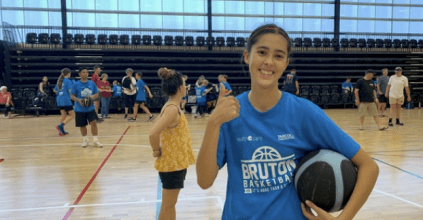 Zoe Aboitiz from Ballina Basketball at BRUTON Basketball.