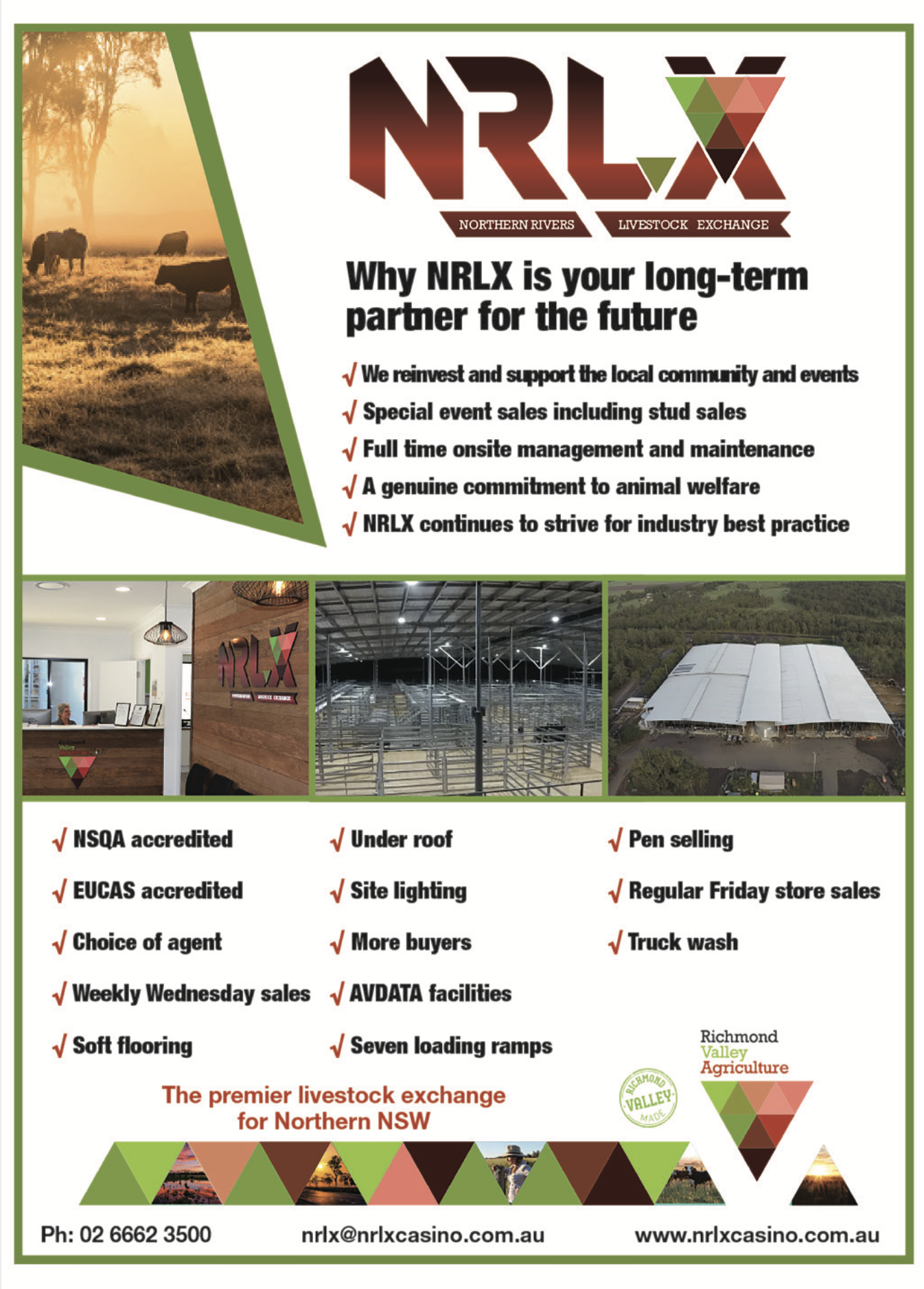NORTHERN RIVERS LIVESTOCK EXCHANGE - nrlx