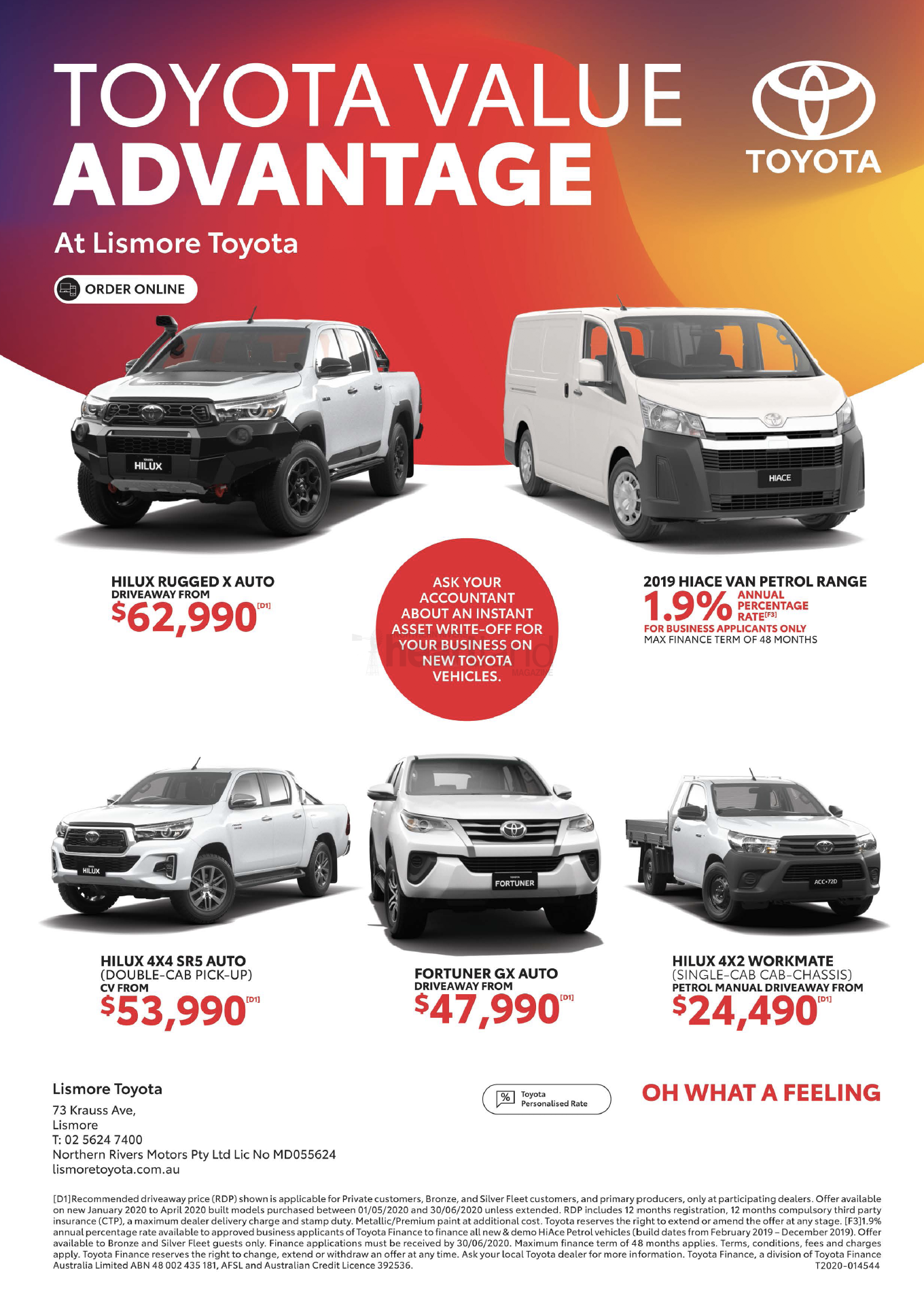 Lismore Toyota, Heartland Magazine Lismore, News, Advertising New South Wales, Magazine Advertisement