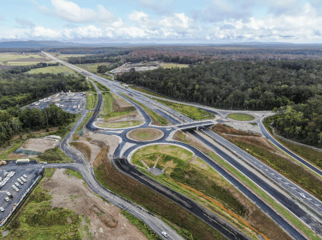 Australian and NSW governments, Woolgoolga to Ballina, Pacific Highway upgrade, Iluka interchange, Federal Member for Page Kevin Hogan